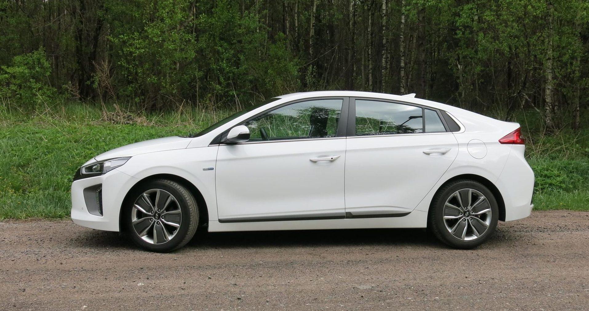 Hyundai ioniq hybrid kulutus