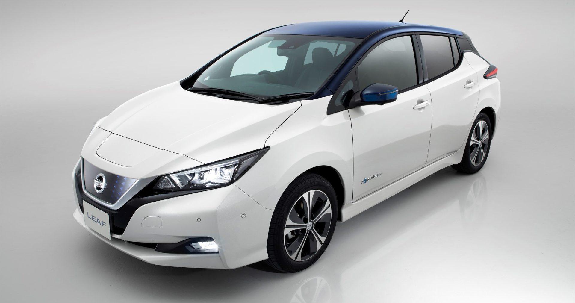 Nissan leaf sähköauto