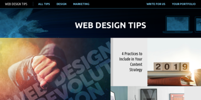 Web design tips and marketing techniques for small business