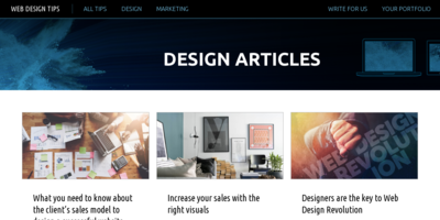 Small business website design tips for creatives