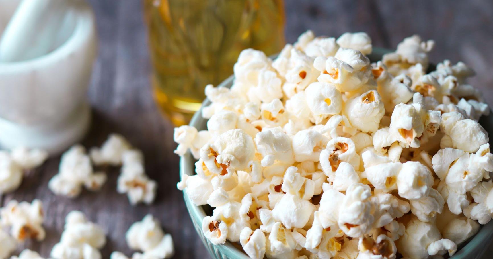 Popcornit Kattilassa