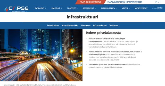 Infrastruktuuri